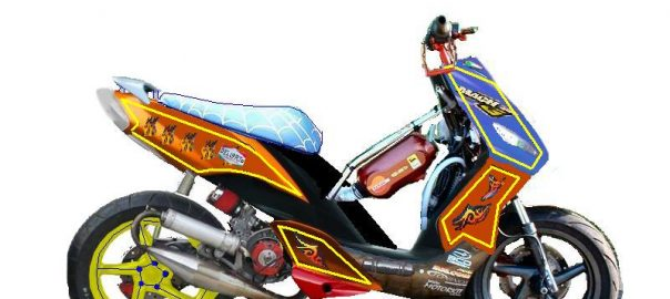 Tuning van een scooter